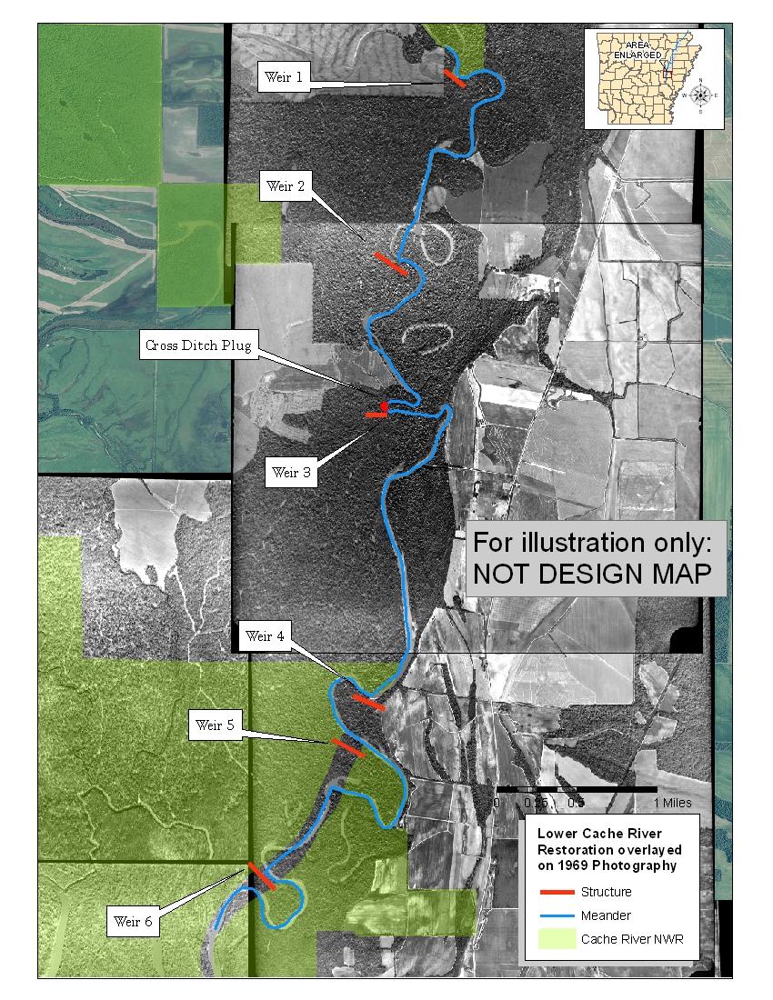 Agri cultures project logo duckdog design - Lower Cache River Restoration